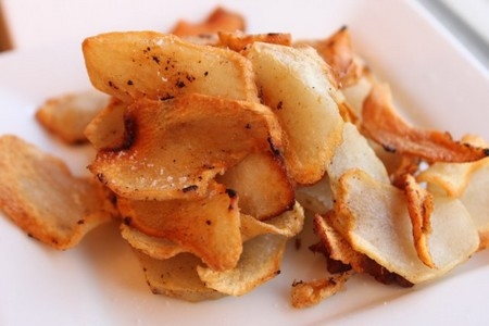 Chips di Topinambur