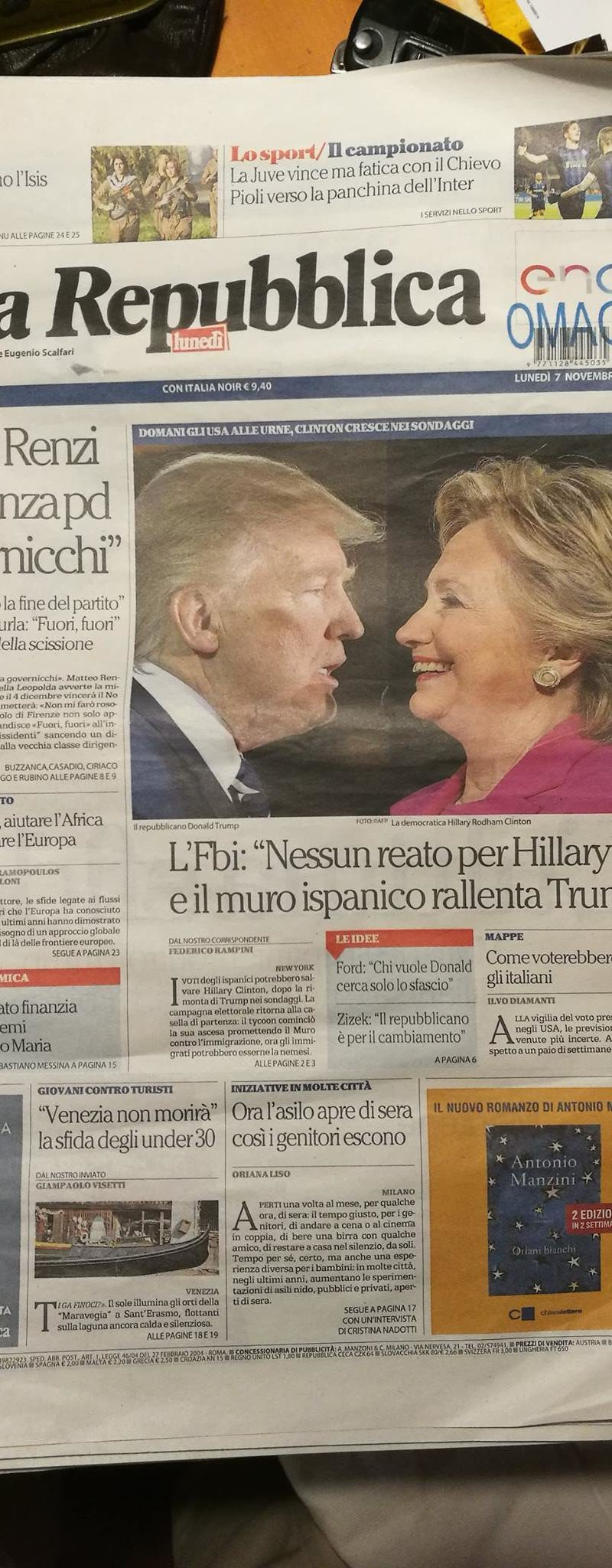 Su Repubblica!