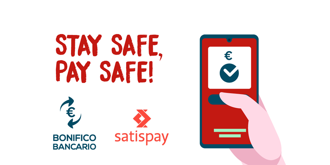 Stay safe, Pay safe!