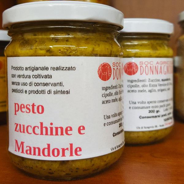pesto zucchine mandorle